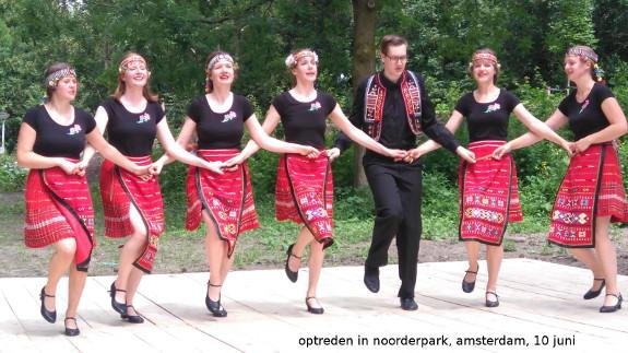 Optreden in noorderpark amsterdam